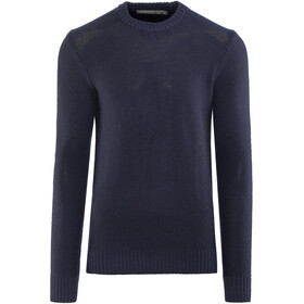 Icebreaker M's Waypoint Crewe Sweater Midnight Navy